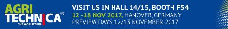 Welcome to visit us at Agritechnica