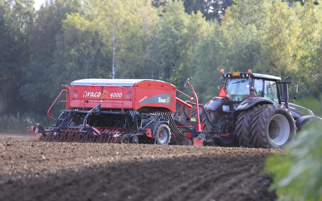 Epec's Control Units Renew the Control of Tume-Agri Seeders