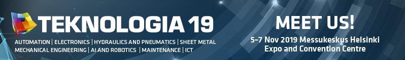 Tervetuloa vierailemaan osastollemme 6d10 Teknologia 19- tapahtumassa